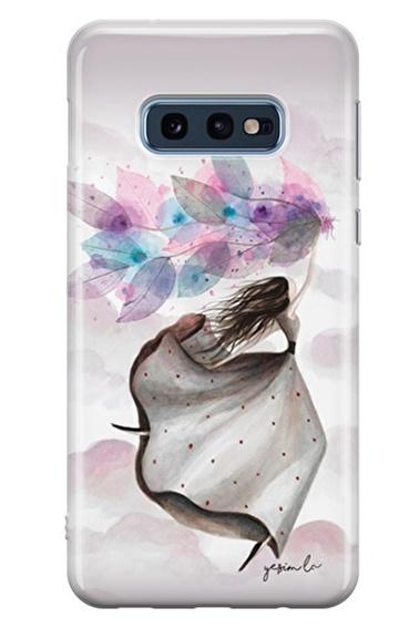 Lopard Samsung Galaxy S10E Kılıf Mutlu Peri Kapak Renkli
